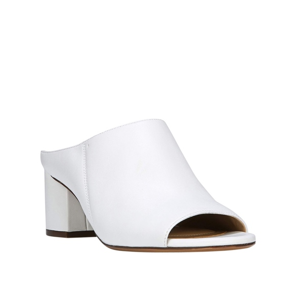 1648c0f4cdf64 Naturalizer Cyprine White Mules Boutique